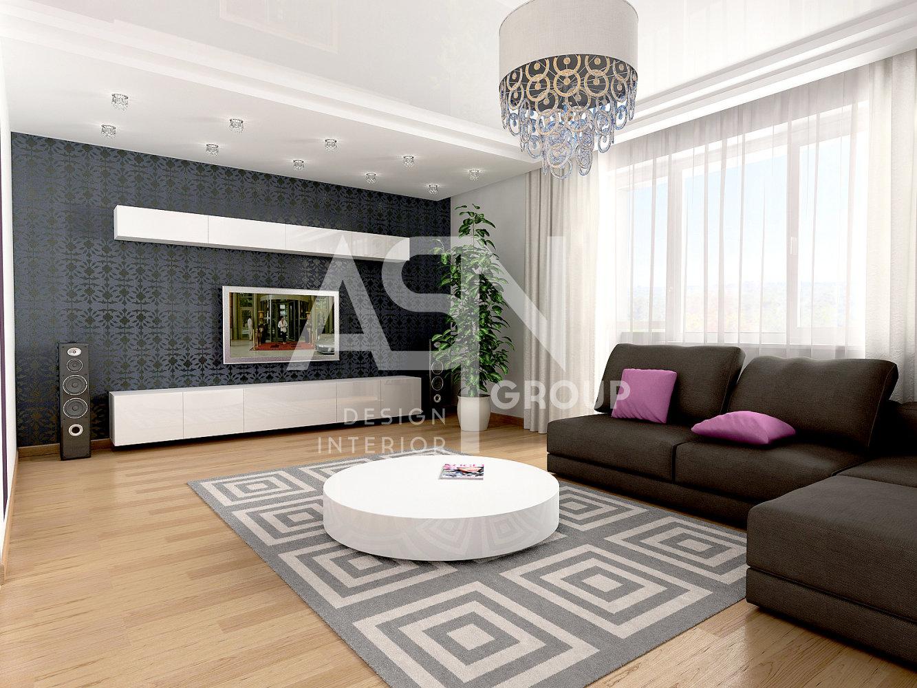 Дизайн гостиной 26 кв м